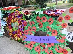 Secondary Students remember the fallen